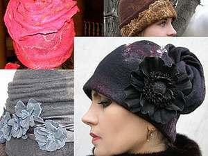 Мастер-класс по пришиванию трикотажной манжетки к валяным шапочкам. Ярмарка Мастеров - ручная работа, handmade.