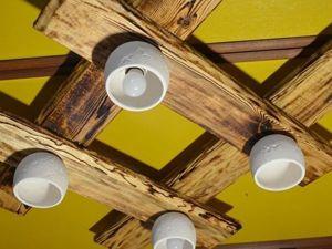 Видео мастер-класс: люстра под старину своими руками. Ярмарка Мастеров - ручная работа, handmade.