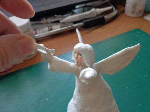 Как создать Ангела-хранителя полетов из ваты. Ярмарка Мастеров - ручная работа, handmade.