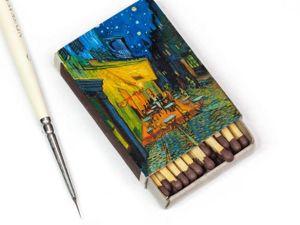 Винсент ван Гог на спичечных коробках. Ярмарка Мастеров - ручная работа, handmade.
