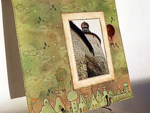 Фоторамка своими руками (видео МК). Ярмарка Мастеров - ручная работа, handmade.