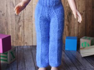 Брюки для куклы Паола Рейна 34 см. Ярмарка Мастеров - ручная работа, handmade.