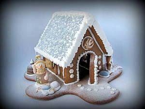 Делаем сами пряничный домик. Ярмарка Мастеров - ручная работа, handmade.