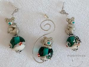 Видео комплекта  «Мишки Тедди на лазурном берегу». Ярмарка Мастеров - ручная работа, handmade.