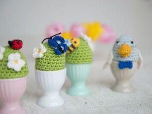 Готовимся к Пасхе: грелки на яйца — элемент декора. Ярмарка Мастеров - ручная работа, handmade.