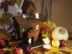 Готовимся к Хэллоуину: строим съедобный дом для привидений. Ярмарка Мастеров - ручная работа, handmade.