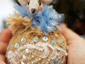 Мышкошарики на ёлку. Ярмарка Мастеров - ручная работа, handmade.