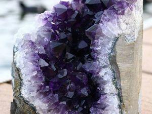 Кристаллы не выращиваем, а просто любуемся друза аметист литотерапия натуральные камни. Ярмарка Мастеров - ручная работа, handmade.