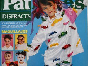 Patrones —   журнал мод — Карнавал 2005. Ярмарка Мастеров - ручная работа, handmade.