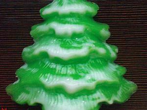 Как быстро сделать мыло в виде ёлочки. Ярмарка Мастеров - ручная работа, handmade.