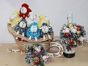 Как украсить бутылку шампанского на Новый год. Ярмарка Мастеров - ручная работа, handmade.