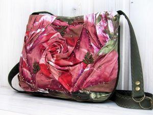 Фото из жизни) Сумочка  «Роза». Ярмарка Мастеров - ручная работа, handmade.