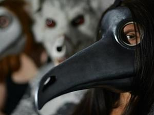 Modelling A Plague Doctor Mask with Your Own Hands. Livemaster - handmade
