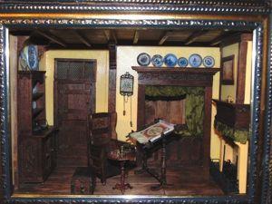 Голландский интерьер в миниатюре 1:12. Ярмарка Мастеров - ручная работа, handmade.