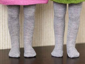 Как сшить колготки для куколки. Ярмарка Мастеров - ручная работа, handmade.