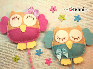Making Cute DIY Owls of Felt. Livemaster - handmade