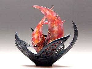 Бытие, сотканное из цветов и бабочек: художник по дереву Джоуи Ричардсон. Ярмарка Мастеров - ручная работа, handmade.