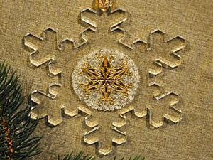 Прозрачные ёлочные украшения своими руками. Ярмарка Мастеров - ручная работа, handmade.