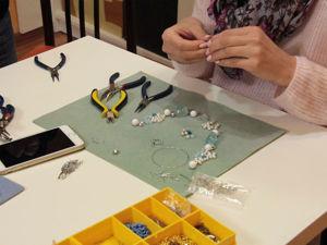 Фотоотчет о мастер-классах по созданию украшений. Ярмарка Мастеров - ручная работа, handmade.
