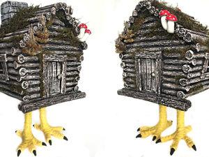 Избушка на курьих ножках. Ярмарка Мастеров - ручная работа, handmade.