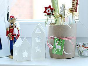 Мастерим домики-подсвечники из полимерной глины. Ярмарка Мастеров - ручная работа, handmade.