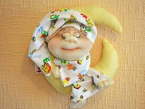 Видеоурок: кукла «Сплюшка» в чулочной технике. Ярмарка Мастеров - ручная работа, handmade.