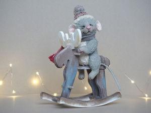 Мышонок Сёма и лось Север. Ярмарка Мастеров - ручная работа, handmade.