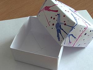 Самый простой способ декорирования бумаги для упаковки.. Ярмарка Мастеров - ручная работа, handmade.
