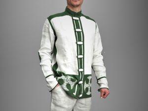Праздничные скидки на мужскую одежду из домотканой конопли!!. Ярмарка Мастеров - ручная работа, handmade.