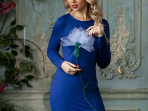 Аукцион на Эффектное платье-футляр! Старт 3000 руб.!. Ярмарка Мастеров - ручная работа, handmade.