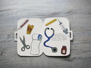 Делаем открытку для врача. Ярмарка Мастеров - ручная работа, handmade.