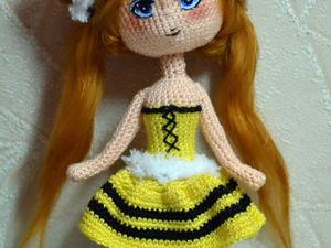 Вяжем куколку-чиби Букашку. Часть 2. Ярмарка Мастеров - ручная работа, handmade.