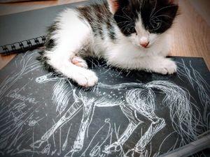 Учимся калякать: рисуем лошадь. Ярмарка Мастеров - ручная работа, handmade.