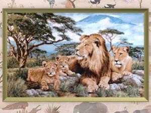 Лев — это символ королевского могущества, военной победы, бдительности, стойкости и силы воли. Ярмарка Мастеров - ручная работа, handmade.