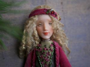 Дополнительные фотографии куклы Лотта. Ярмарка Мастеров - ручная работа, handmade.