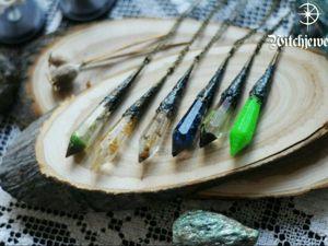 Создаем кулон «Кристалл» из эпоксидной смолы. Ярмарка Мастеров - ручная работа, handmade.