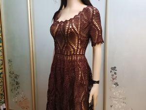 Пляжное платье. Ярмарка Мастеров - ручная работа, handmade.