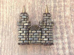 Строим свой собственный замок. Часть 3. Центральная часть, дно и сборка всего замка. Ярмарка Мастеров - ручная работа, handmade.