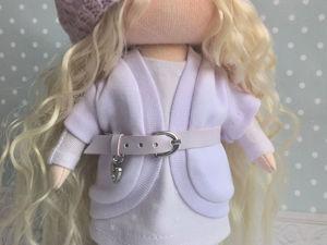 Шьем куколку: детали куклы. Ярмарка Мастеров - ручная работа, handmade.