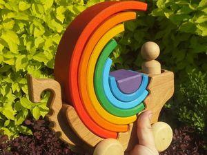 Делаем каталочку Ладью с парусом радугой. Часть 2. Ярмарка Мастеров - ручная работа, handmade.