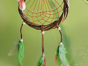 """Плетем ловца снов """"Весенняя роса"""". Ярмарка Мастеров - ручная работа, handmade."""