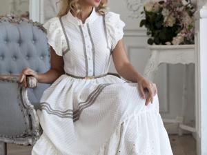 Аукцион на белое платьице с кружевом! Старт 3000 руб.!. Ярмарка Мастеров - ручная работа, handmade.