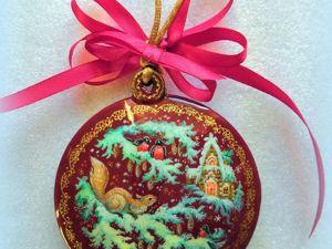Благотворительная лотерея в помощь Степе ! Новогодняя миниатюра в подарок !. Ярмарка Мастеров - ручная работа, handmade.