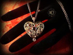 Кулон  «Механическое сердце» , золото. Ярмарка Мастеров - ручная работа, handmade.