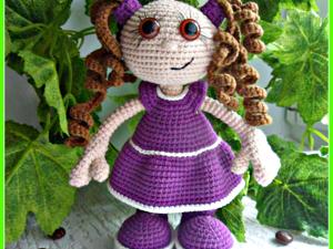 Вяжем игрушку Малышка Сьюзи. Ярмарка Мастеров - ручная работа, handmade.