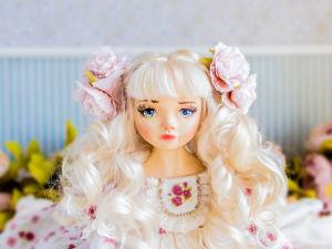 Бернадетт авторская кукла, интерьерная  кукла подарок любимой. Ярмарка Мастеров - ручная работа, handmade.