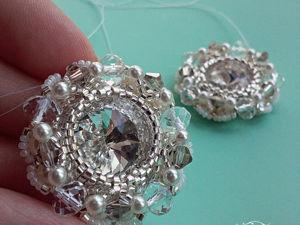 Мастер-класс: интересное оплетение кристалла Swarovski. Ярмарка Мастеров - ручная работа, handmade.