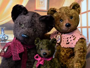 Три медведя. Ярмарка Мастеров - ручная работа, handmade.