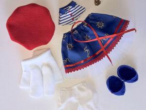 Шьем комплект одежды для куклы-большеножки. Часть 2. Ярмарка Мастеров - ручная работа, handmade.