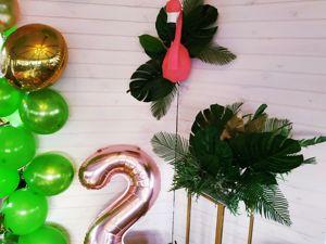 Тропический день рождения Алисы. Ярмарка Мастеров - ручная работа, handmade.